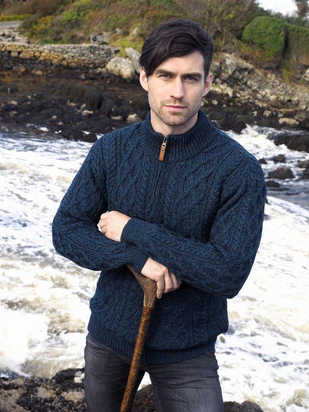 Half Zip Sweater X4295 Sherwood