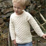 CHILDREN'S CREW NECK SWEATER C311