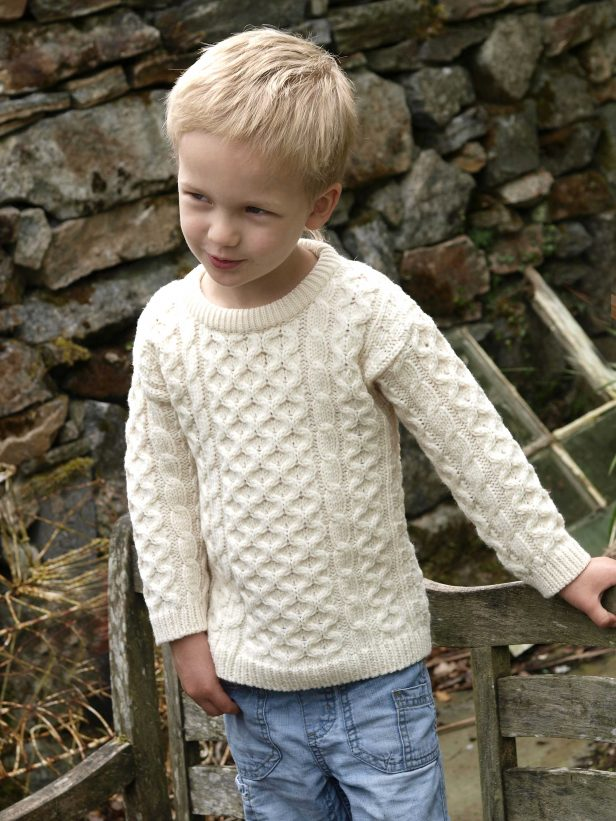 CHILDREN'S CREW NECK SWEATER C311