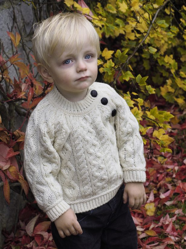 BABY CREW NECK SWEATER C4548