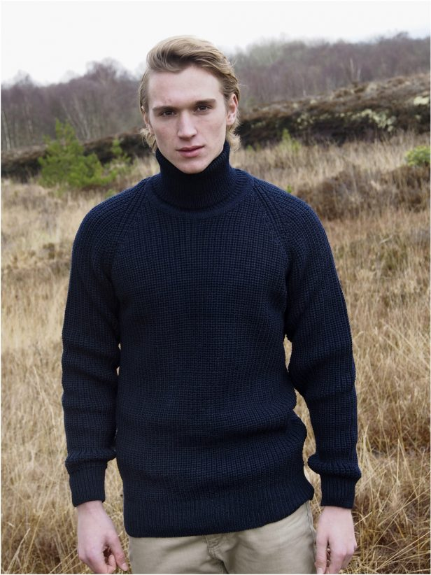 SUBMARINER RIB ROLL NECK SWEATER R761