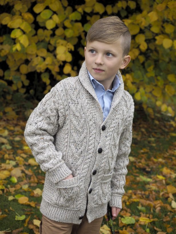 BOYS SHAWL CARDIGAN SH4561