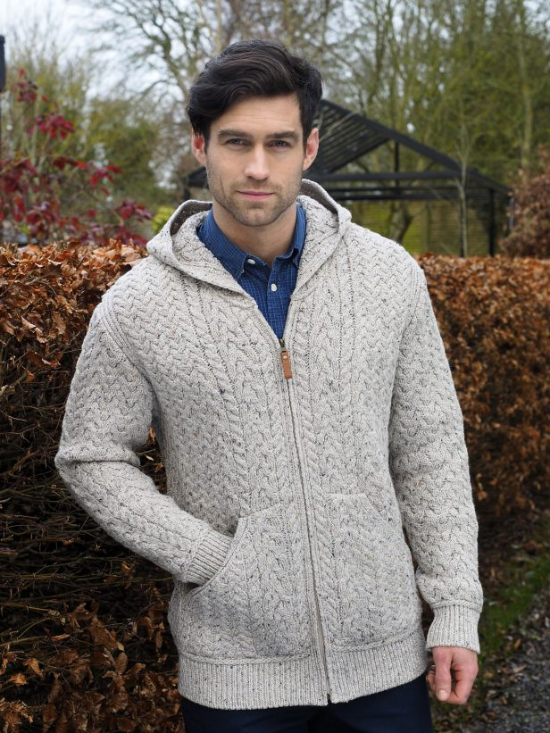 Men's Hooded Cardigan HD4821