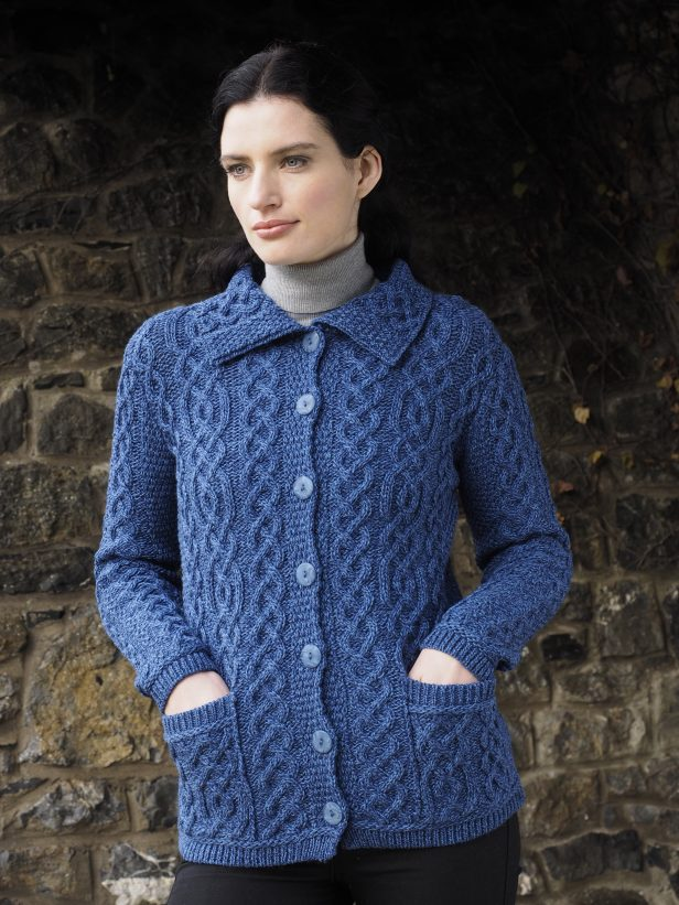 Button Knitted Cardigan X4801