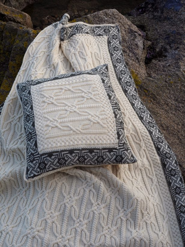 Jacquard Blanket Natural